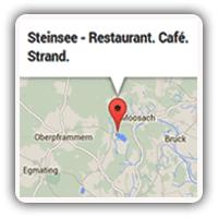 ICON Restaurant Steinsee Anfahrt über München, Grafing, Zorneding, Vaterstetten