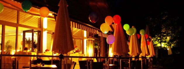 Feiern am Steinsee bei München