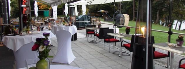 Firmenfeier im Restaurant Steinsee bei München