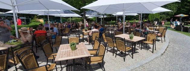 Strandbiergarten des Restaurant Steinsee